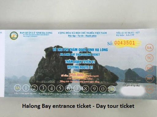 Halong Bay ticket