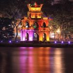 hanoi is listed as one of the top ten destinations on a rise in the world