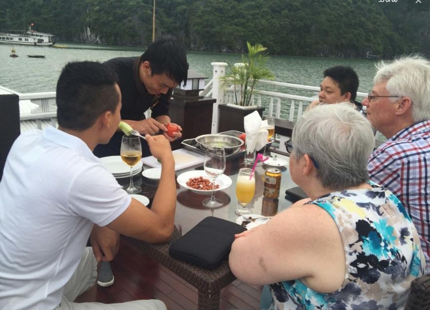 Cooking class Bai Tu Long basy