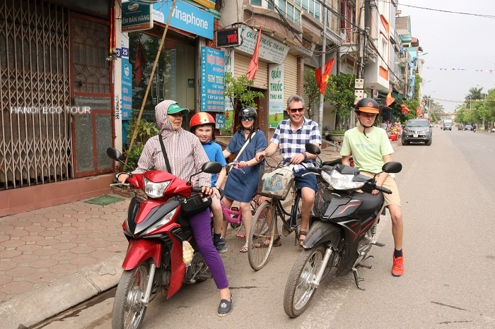 Hanoi motorbike countryside tour