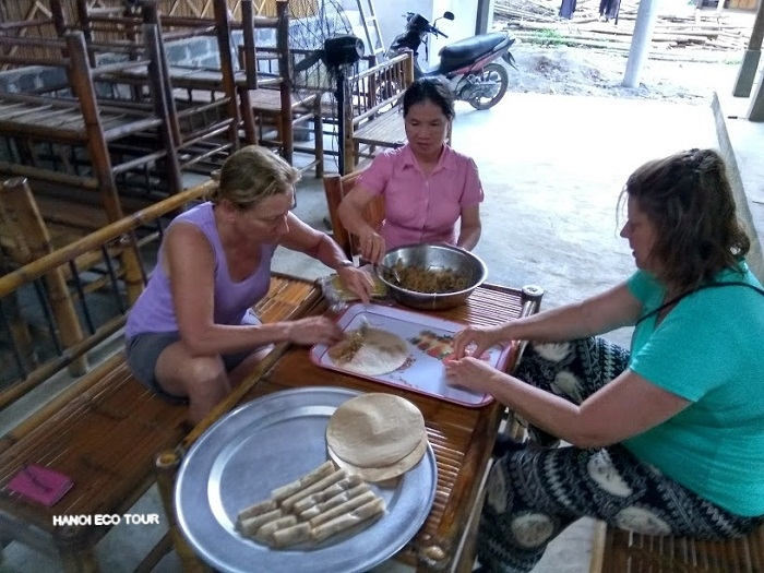 Mai Chau cooking class
