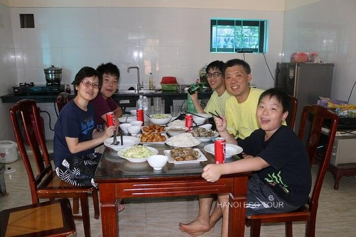Hanoi homestay tour
