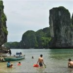 Lan Ha bay swimming