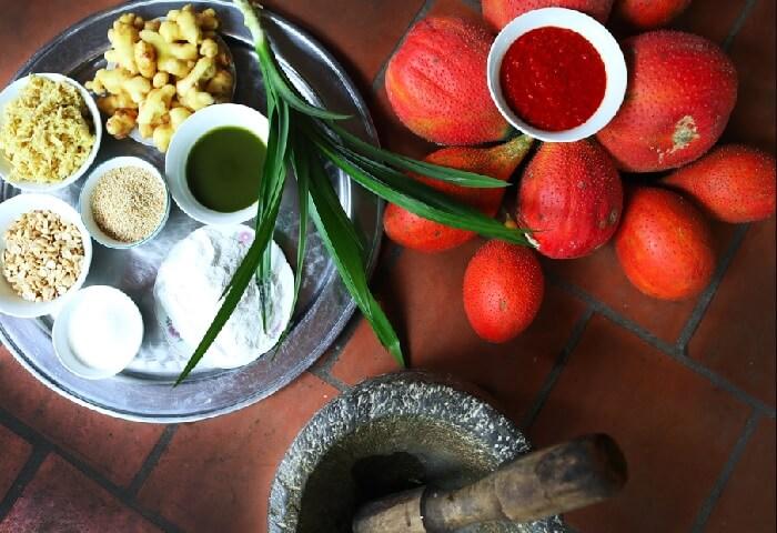 Che Lam recipe in Duong Lam village