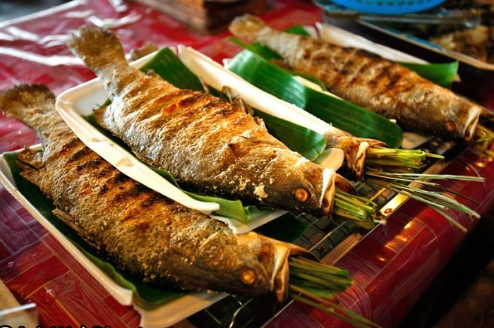Grilled fish is a great food to try in Mai Chau