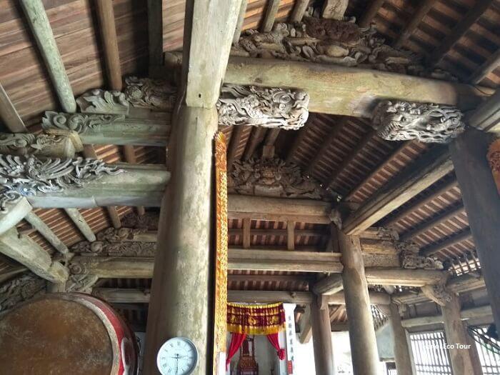 interior architechture quan lan communal house