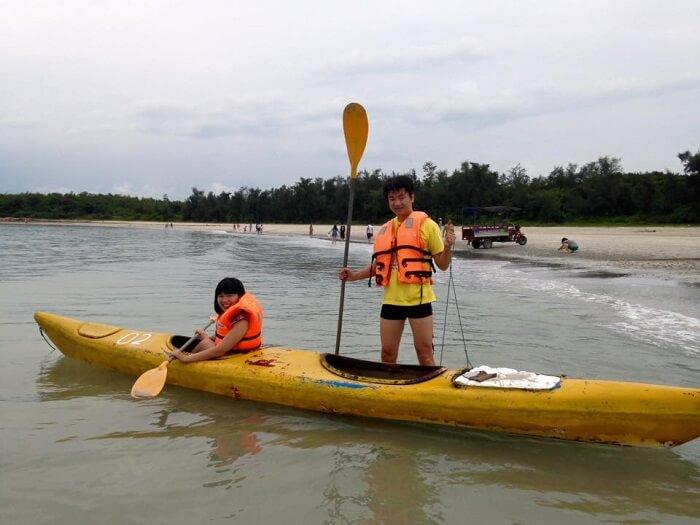 Things to do in Quan Lan island - Minh Chau kayaking