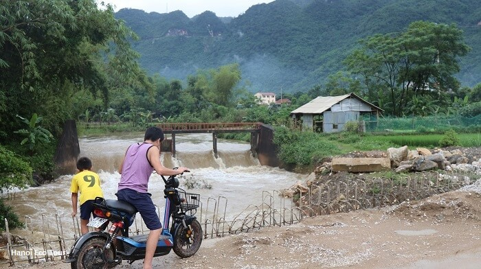 Local dam in Mai Chau