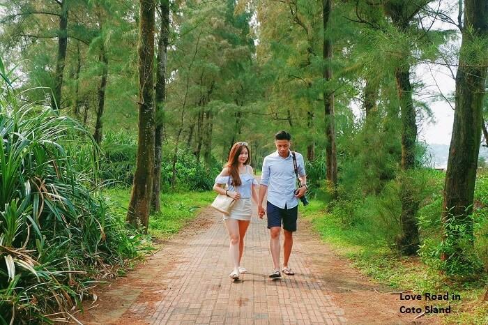 love road coto island