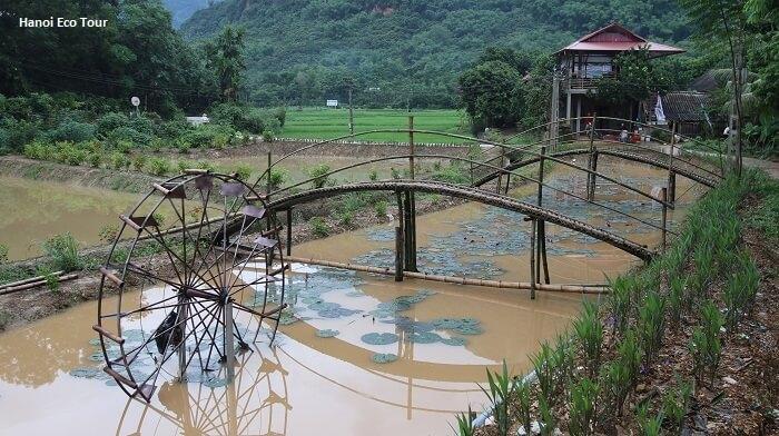 Mai Chau Water Wheel