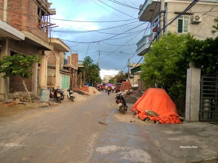 pathway dong nam village quan lan