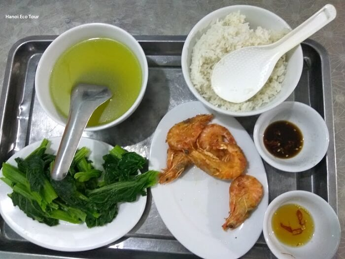 simple lunch meal quan lan