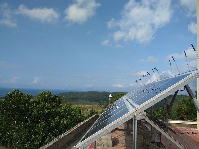 solar panel coto island