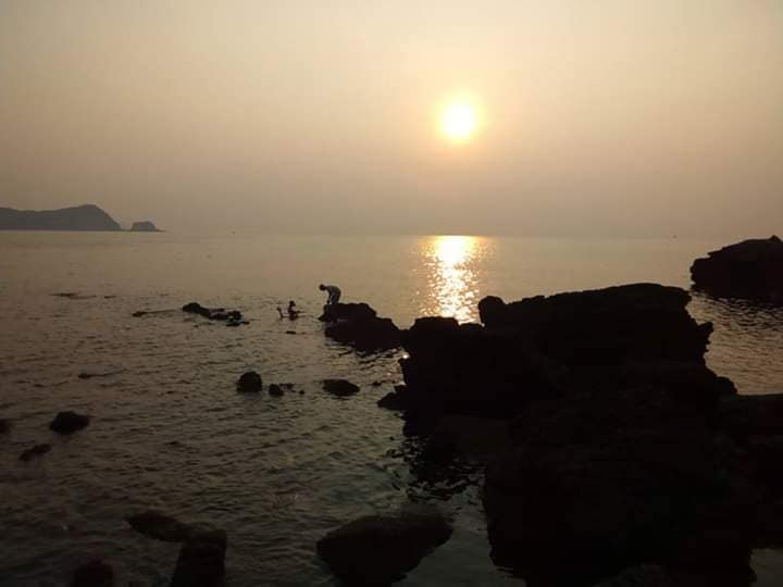 Awesome Sunrise on Thanh Lan island