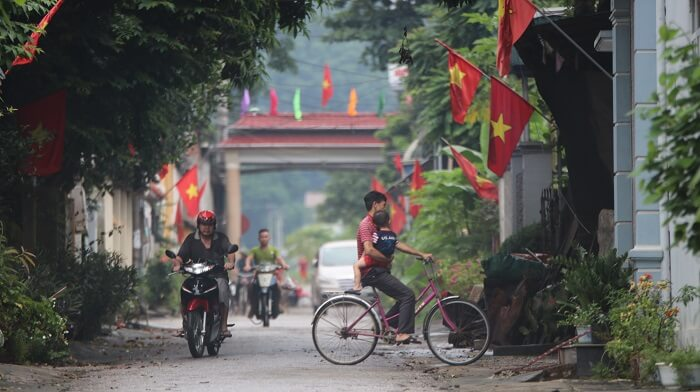 Van village in Mai Chau
