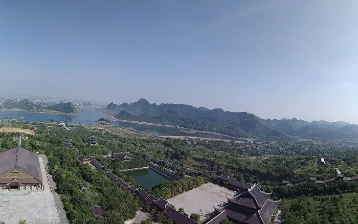 Bai Dinh pagoda - Ninh Binh itinerary