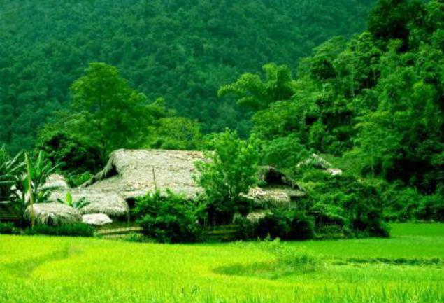 Mai Chau stilt house