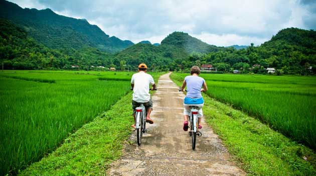 Cycling off the beaten track in Mai Chau