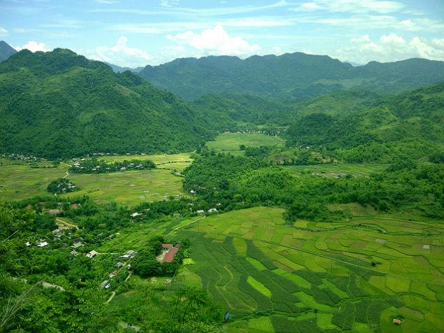 mai Chau Vietnam photos