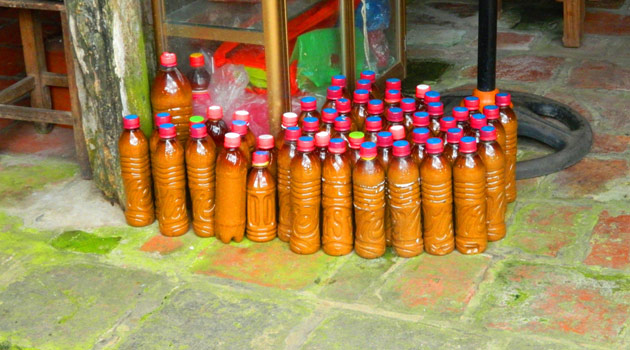 Soya bean souce in bottle for sale
